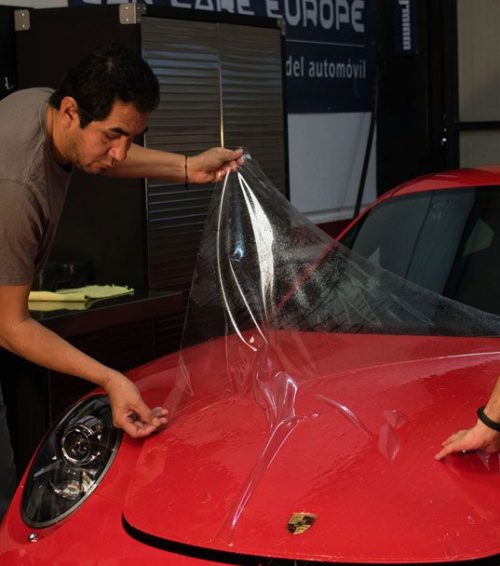 Instalación PremiumShield Paint Protection Film Porsche