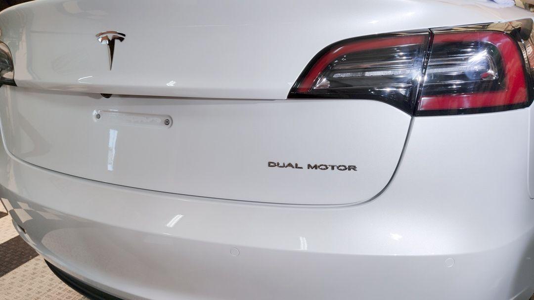 Resultado Instalación Paint Protection Film Tesla