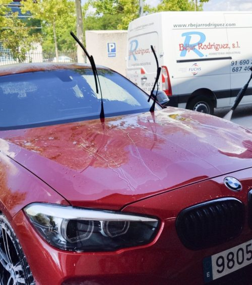 Instalación Paint Protection Film BMW Serie 1