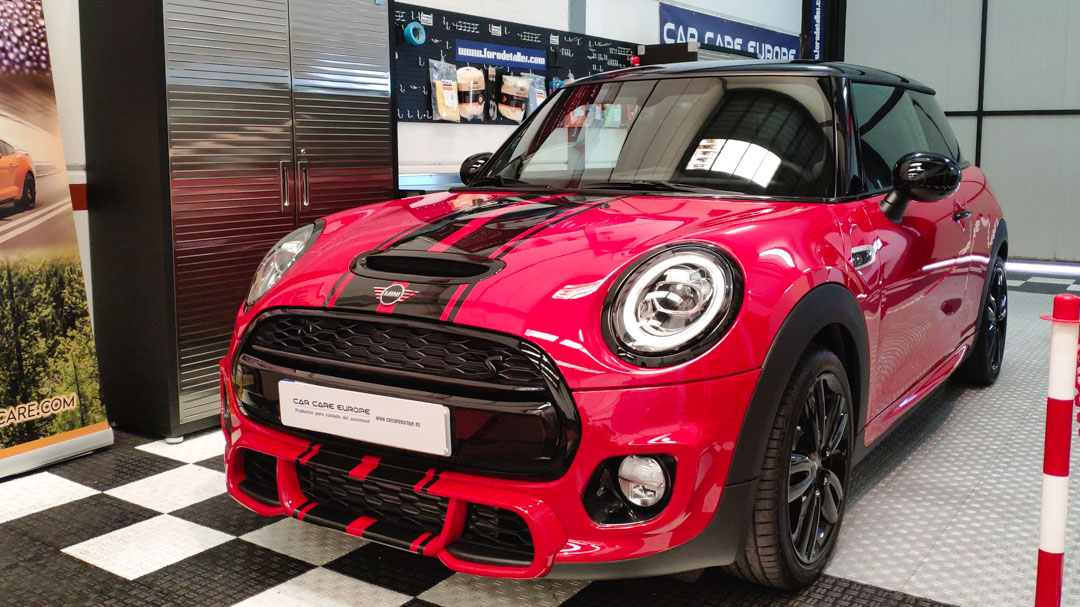 INSTALACION PAINT PROTECTION FILM MINI JOHN COOPER